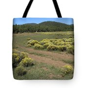 Sage In Bloom - Flagstaff Tote Bag