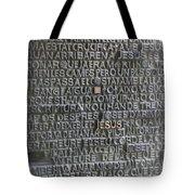 Sagrada Familia Doors Tote Bag