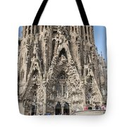 Sagrada Familia - Gaudi Designed - Barcelona Spain Tote Bag