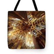 Sagrada Familia In Barcelona Tote Bag