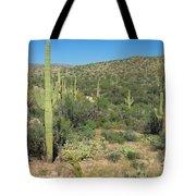 Saguaro Cacti Tucson Az Tote Bag