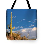 Saguaro Cactus - Symbol Of The American West Tote Bag