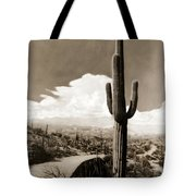 Saguaro Cactus 3 Tote Bag