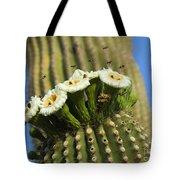 Saguaro Cactus Flower 8 Tote Bag