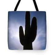 Saguaro Catus Silo Tote Bag