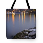 Saguaro Lake Dusk Tote Bag
