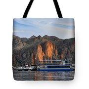 Saguaro Lake Goldfield Mountains Tote Bag
