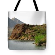 Saguaro Lake Shore Tote Bag