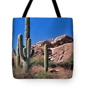 Saguaro National Monument Tote Bag