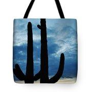 Saguaro Nights Tote Bag