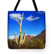 Saguaro Tree Tote Bag