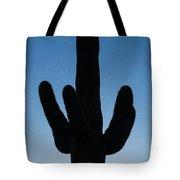 Saguaro Twilight Arizona Tote Bag
