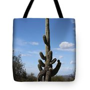 Saguaro With Extra Legs Tote Bag