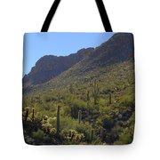 Saguaros And Other Greenery  Tote Bag