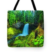 Koosa Falls, Oregon Tote Bag