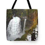 Sahalie Falls, Oregon Tote Bag
