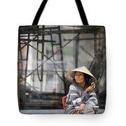 Saigon Lady Tote Bag