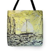 Sail And Sunrays Tote Bag