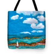 Sail Around The Islands Tote Bag