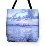 Sail Away Devils Island Tote Bag