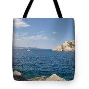 Sail Away To Hydra Tote Bag