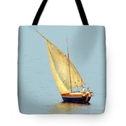 Sail Boat Madagascar  Tote Bag