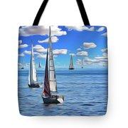 Sail Day Tote Bag