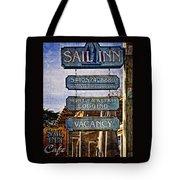 Sail Inn Tote Bag