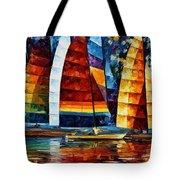 Sail Regatta Tote Bag