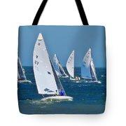 Sailboat Championship Racing 2 Tote Bag