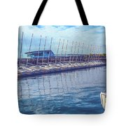 Sailboat Classes Tote Bag