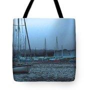 Sailboat Harbor Tote Bag