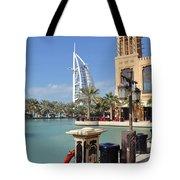 Sailboat Hotel IIi Tote Bag by Corinne Rhode
