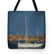 Sailboat In Iona Bay Tote Bag