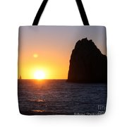 Sailboat In The Sunset Cabo San Lucas Mexico Tote Bag