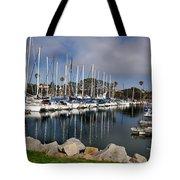Sailboat Row Tote Bag