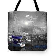 Sailboat Series 14 Tote Bag