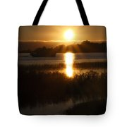Sailboat Sunset Tote Bag