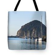 Sailboats In Morro Bay Tote Bag