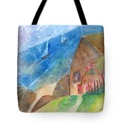 Sailboats Passing By Tote Bag