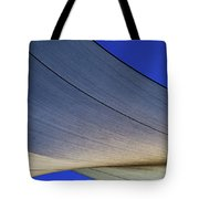 Sailcloth Abstract Times Two Tote Bag