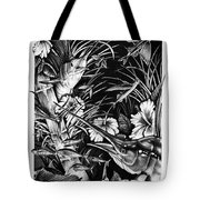 Sailfish Collage Tote Bag