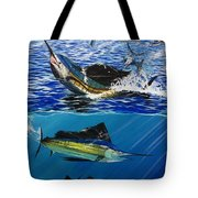 Sailfish In Costa Rica Tote Bag