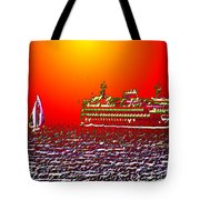 Sailin The Sound Tote Bag