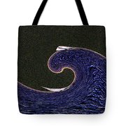 Sailin The Wave Tote Bag