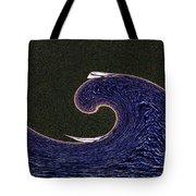 Sailin The Wave Tote Bag