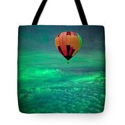 Sailing Above The Storm Tote Bag