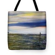 Sailing At Dusk Tote Bag