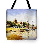 Sailing At Maldon Tote Bag
