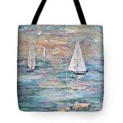 Sailing Away 1 Tote Bag